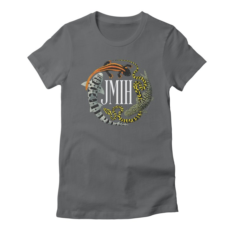JMIH (for dark background) Women's Fitted T-Shirt by Kevin L. Wang Designs