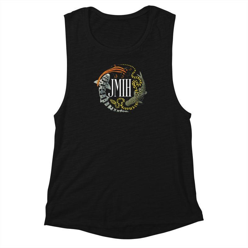 JMIH (for dark background) Women's Muscle Tank by Kevin L. Wang Designs