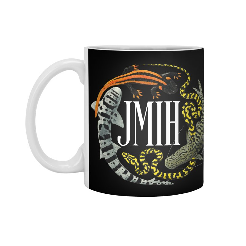 JMIH (for dark background) Accessories Mug by Kevin L. Wang Designs