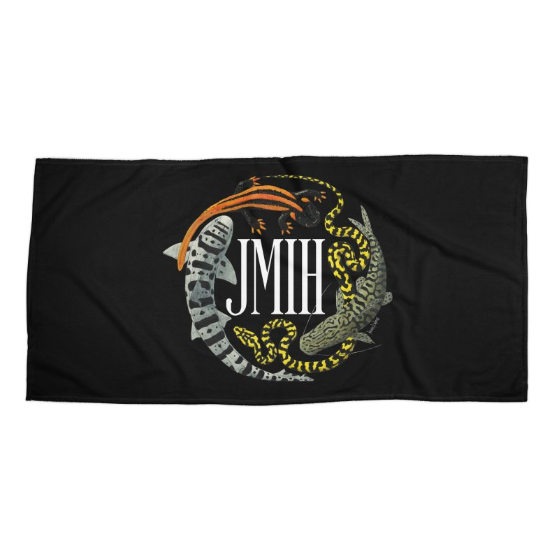 JMIH (for dark background) Accessories Beach Towel by Kevin L. Wang Designs