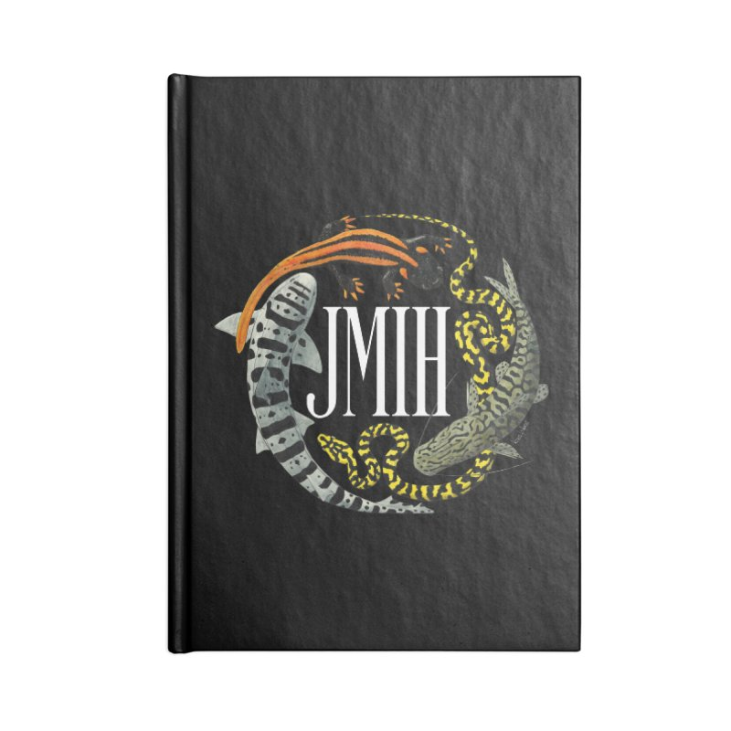 JMIH (for dark background) Accessories Notebook by Kevin L. Wang Designs