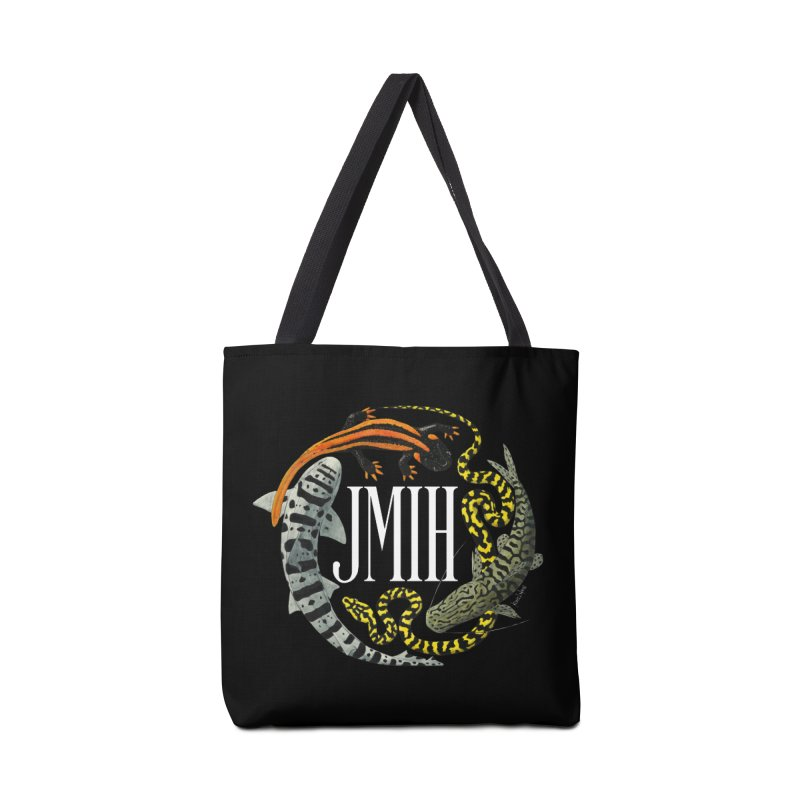 JMIH (for dark background) Accessories Bag by Kevin L. Wang Designs