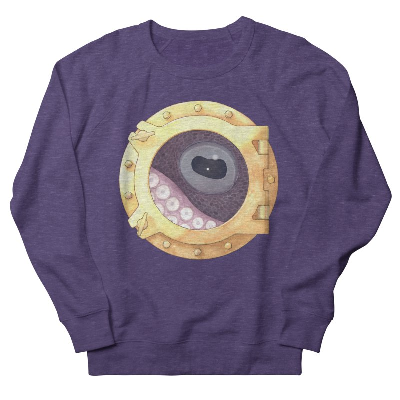 Here's Lookin' at You, Squid Women's Sweatshirt by Kevin L. Wang Designs