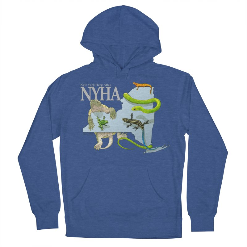 NYHA Women's French Terry Pullover Hoody by Kevin L. Wang Designs