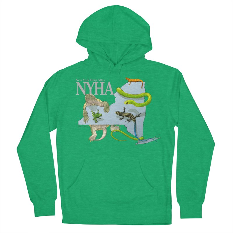 NYHA Men's French Terry Pullover Hoody by Kevin L. Wang Designs