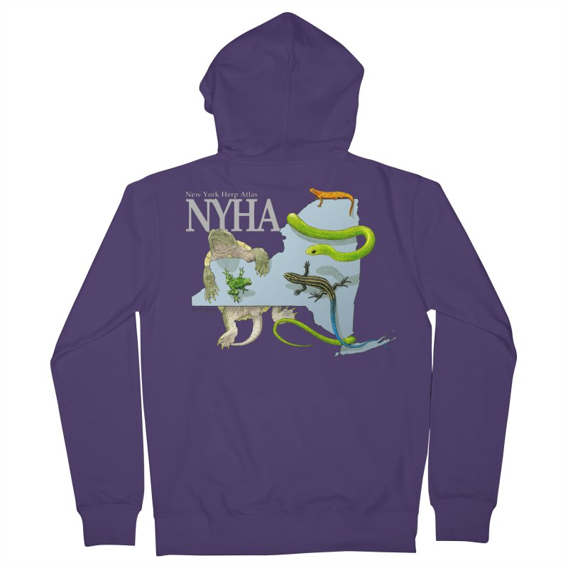 NYHA Women's French Terry Zip-Up Hoody by Kevin L. Wang Designs
