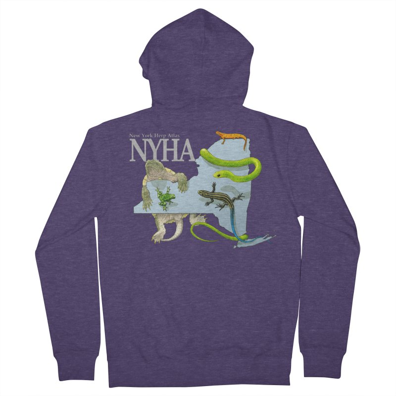 NYHA Men's French Terry Zip-Up Hoody by Kevin L. Wang Designs