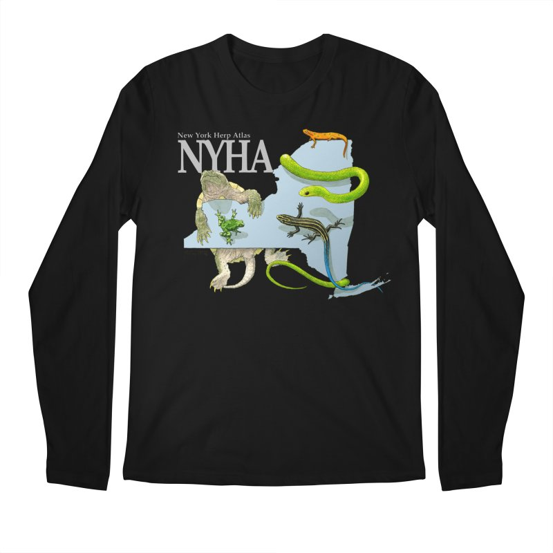 NYHA Men's Regular Longsleeve T-Shirt by Kevin L. Wang Designs