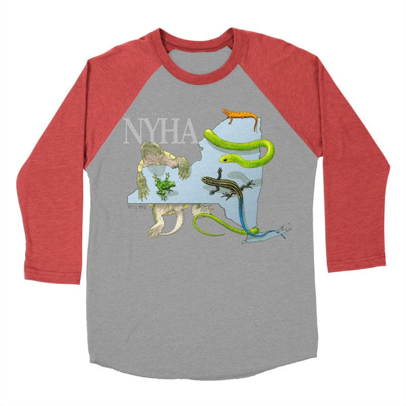 NYHA Men's Baseball Triblend Longsleeve T-Shirt by Kevin L. Wang Designs