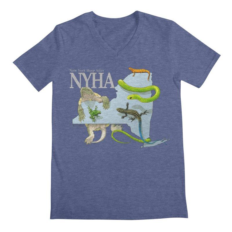 NYHA Men's Regular V-Neck by Kevin L. Wang Designs