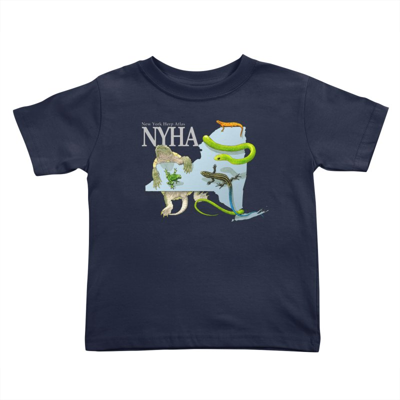 NYHA Kids Toddler T-Shirt by Kevin L. Wang Designs