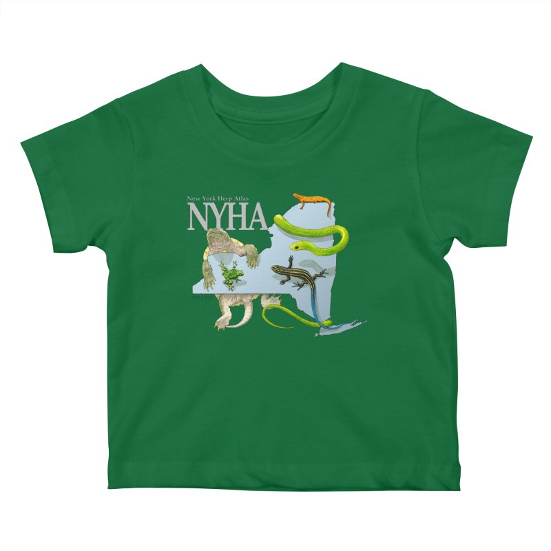 NYHA Kids Baby T-Shirt by Kevin L. Wang Designs