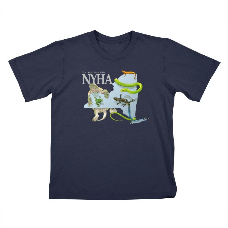 NYHA Kids T-Shirt by Kevin L. Wang Designs