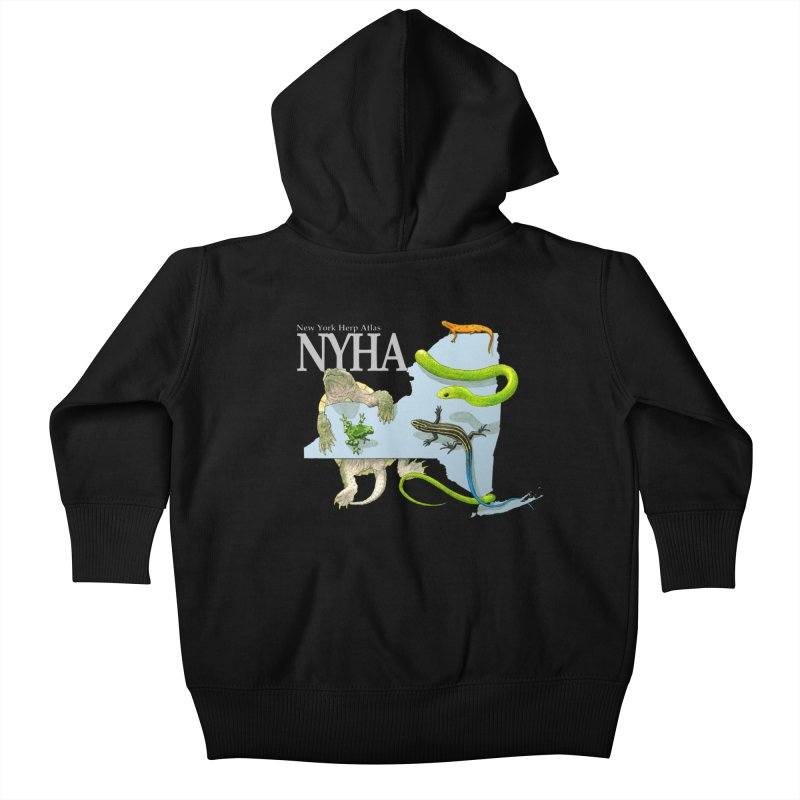NYHA Kids Baby Zip-Up Hoody by Kevin L. Wang Designs