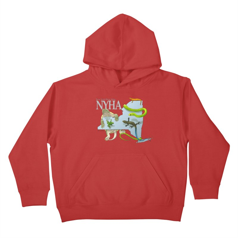 NYHA Kids Pullover Hoody by Kevin L. Wang Designs