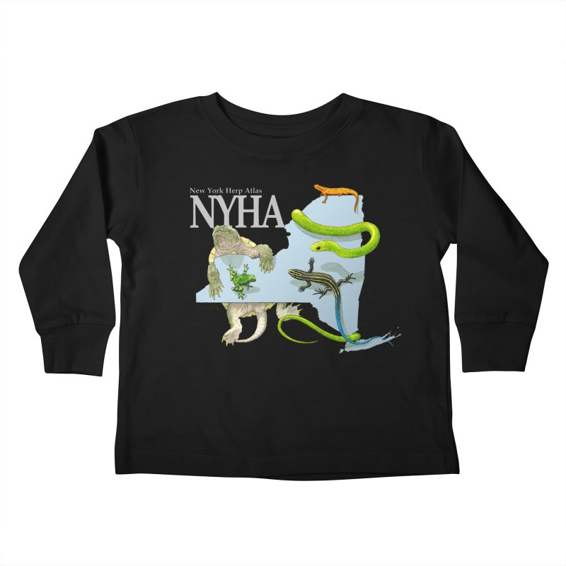 NYHA Kids Toddler Longsleeve T-Shirt by Kevin L. Wang Designs