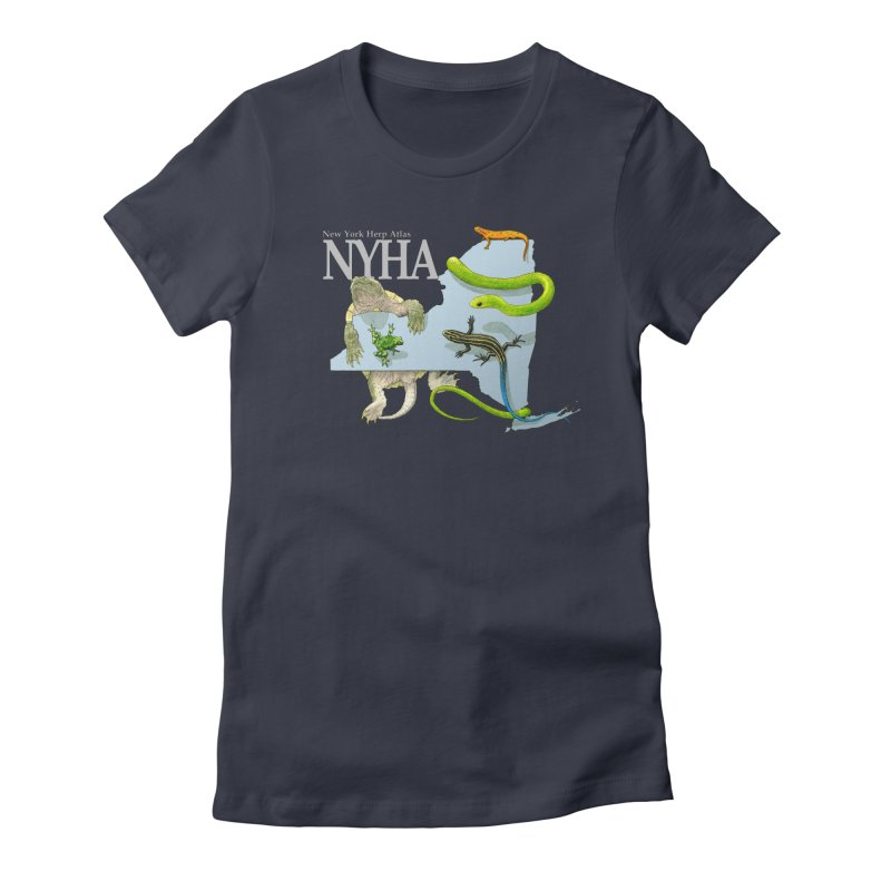 NYHA Women's Fitted T-Shirt by Kevin L. Wang Designs