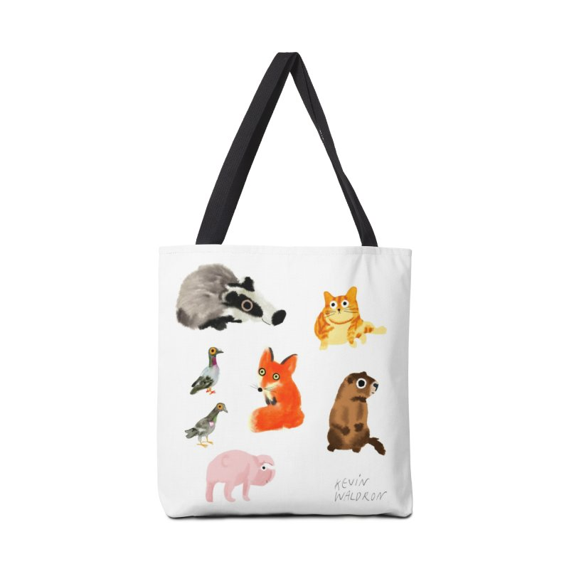 animal pattern 1 Accessories Bag by kevinwaldron's Artist Shop