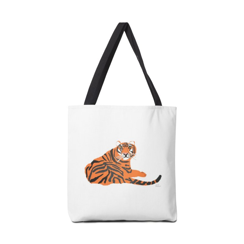 tiger Accessories Bag by kevinwaldron's Artist Shop