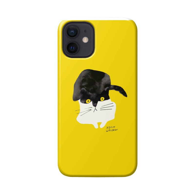 wilbur the cat 1 Accessories Phone Case by kevinwaldron's Artist Shop