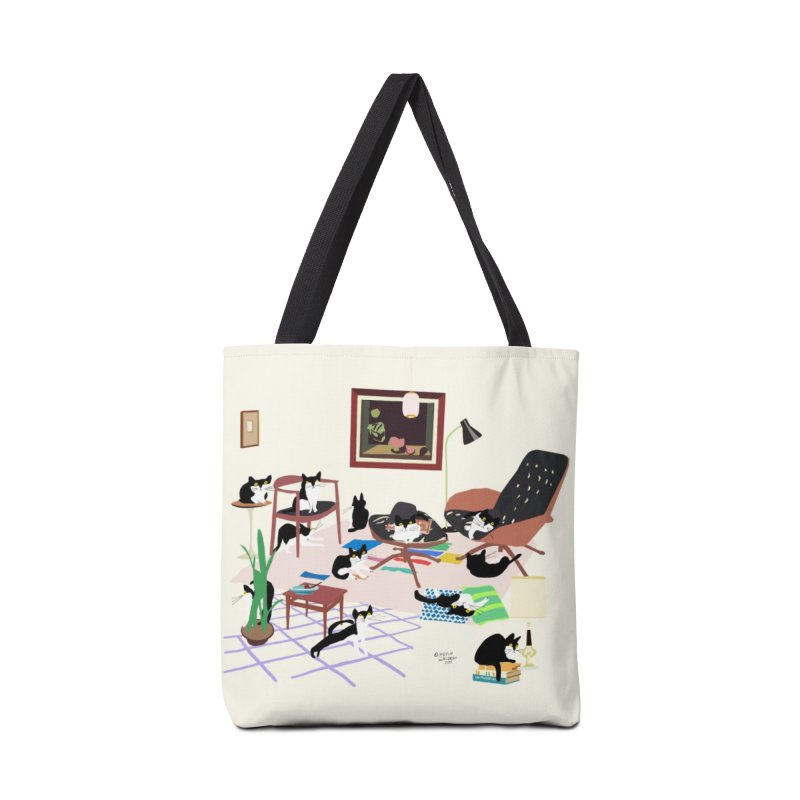 wilbur the cat 3 Accessories Bag by kevinwaldron's Artist Shop