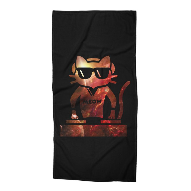 MEOW MIX Accessories Beach Towel by The SHIZIRT