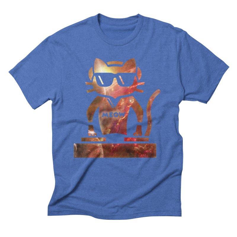 MEOW MIX Men's Triblend T-shirt by The SHIZIRT