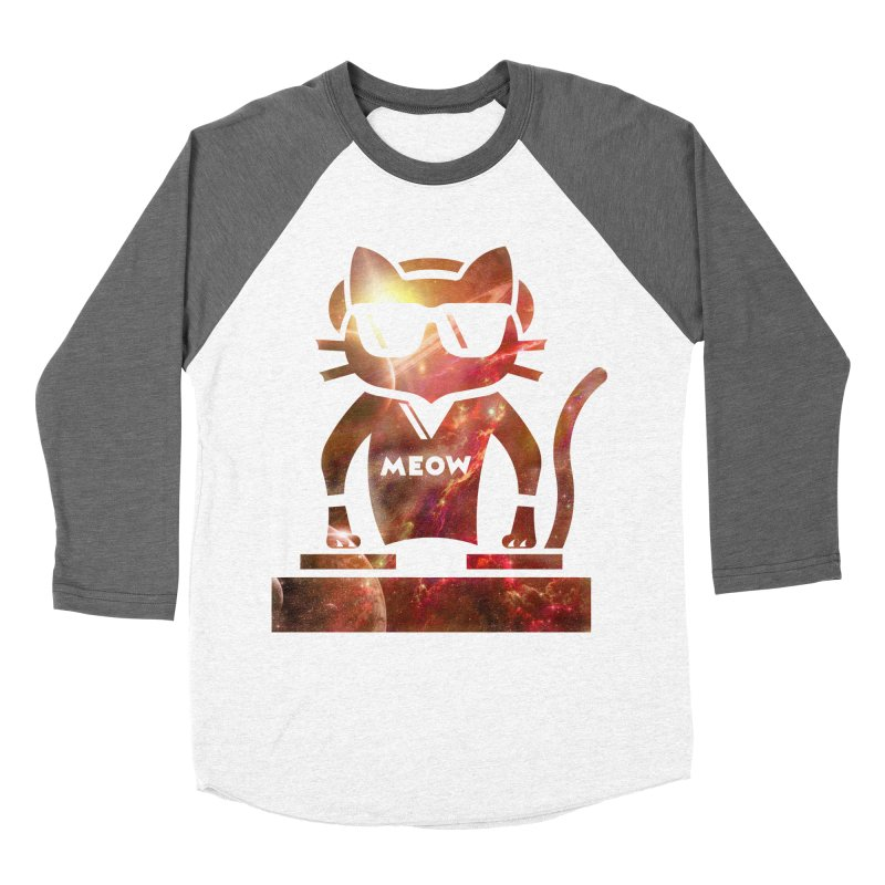 MEOW MIX Women's Baseball Triblend T-Shirt by The SHIZIRT
