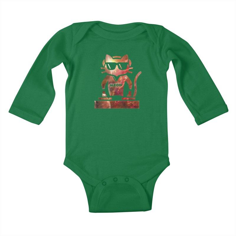 MEOW MIX Kids Baby Longsleeve Bodysuit by The SHIZIRT