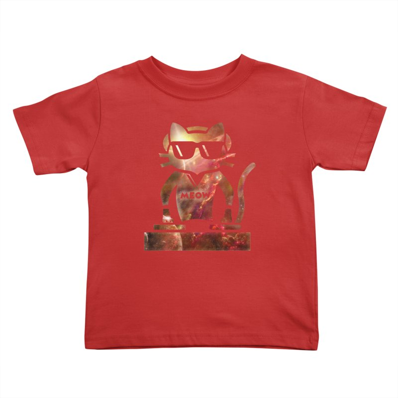 MEOW MIX Kids Toddler T-Shirt by The SHIZIRT