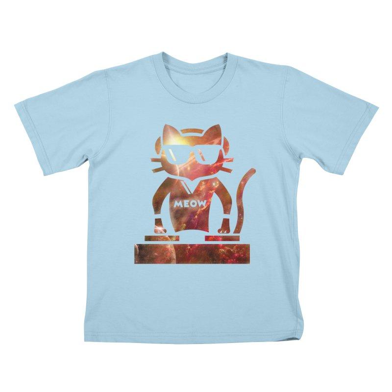 MEOW MIX Kids T-Shirt by The SHIZIRT