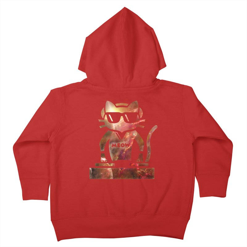 MEOW MIX Kids Toddler Zip-Up Hoody by The SHIZIRT