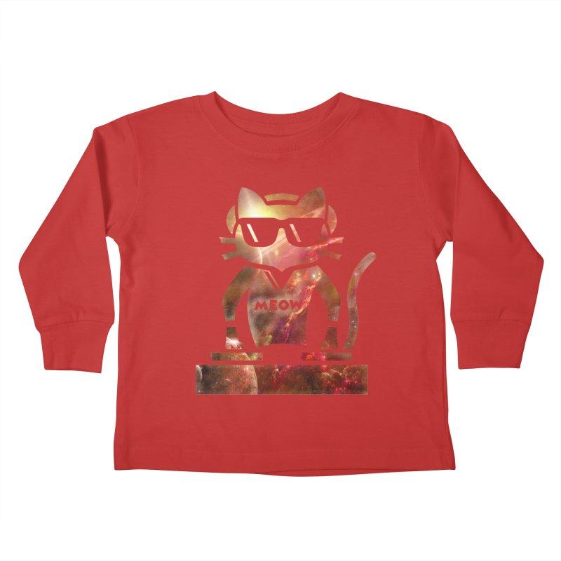 MEOW MIX Kids Toddler Longsleeve T-Shirt by The SHIZIRT