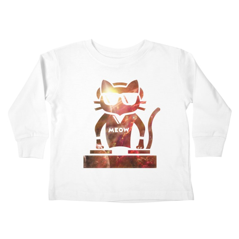 MEOW MIX Kids Toddler Longsleeve T-Shirt by The SHIZIRT