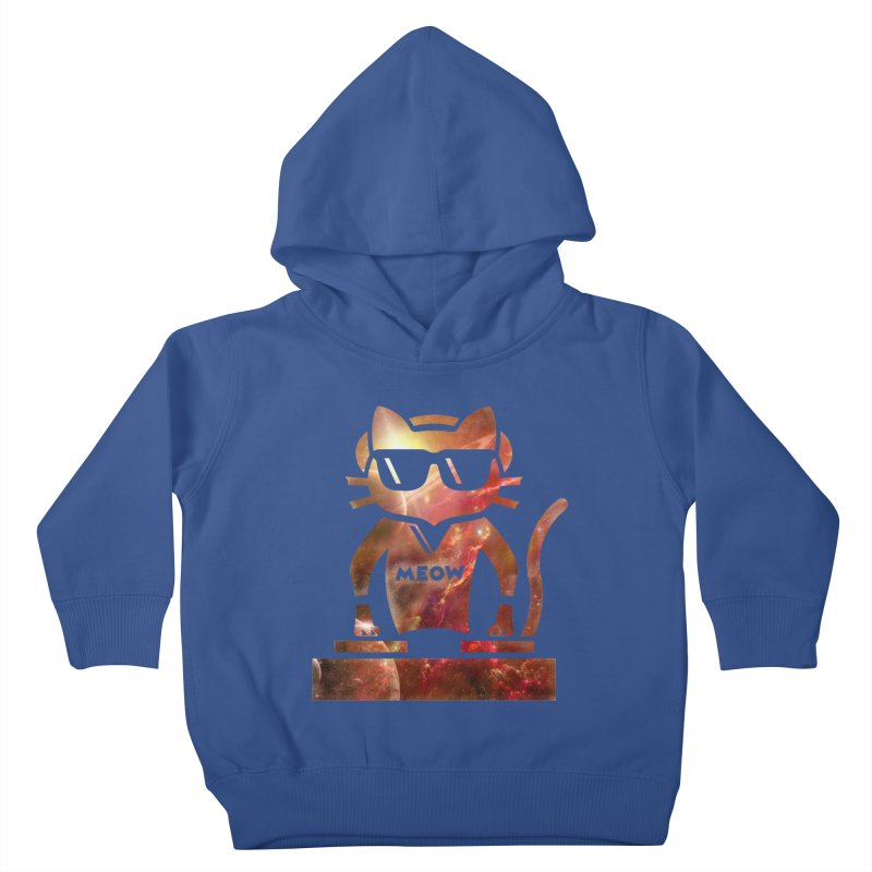 MEOW MIX Kids Toddler Pullover Hoody by The SHIZIRT