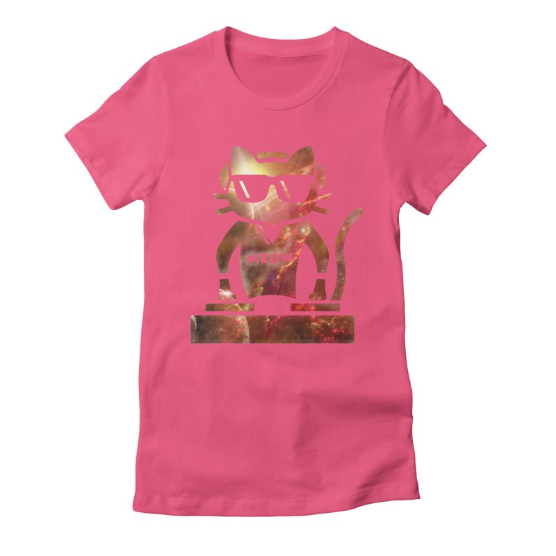 MEOW MIX Women's Fitted T-Shirt by The SHIZIRT