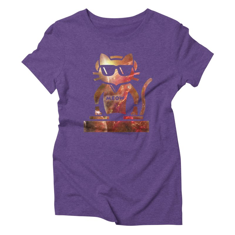 MEOW MIX Women's Triblend T-shirt by The SHIZIRT