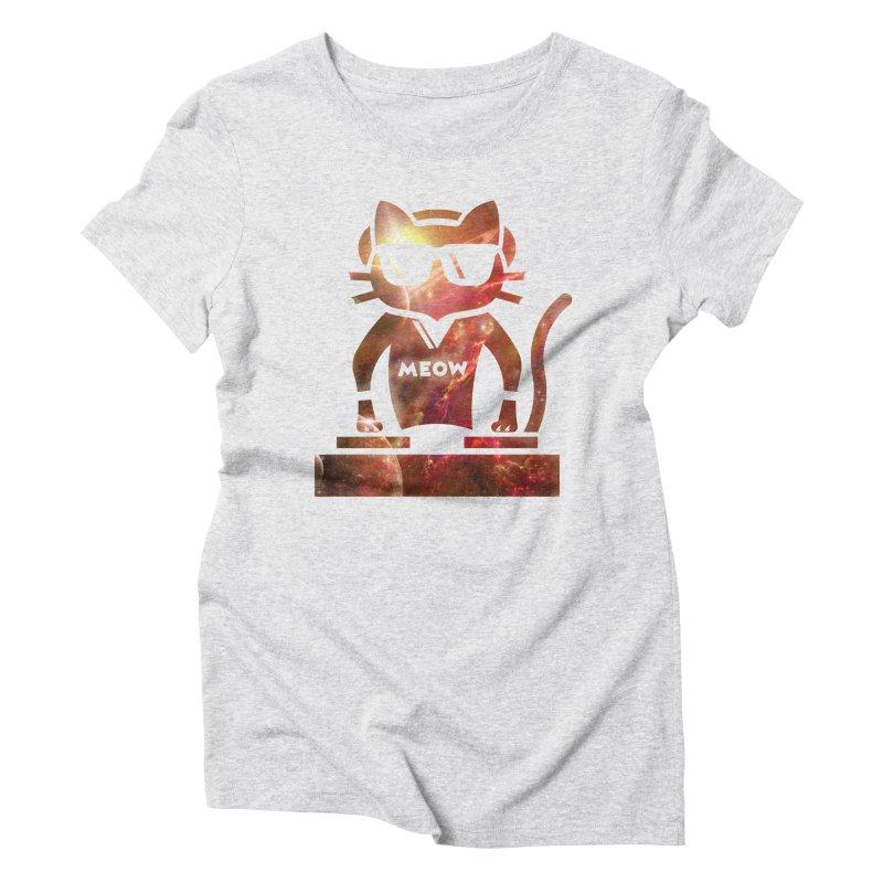 MEOW MIX Women's Triblend T-Shirt by The SHIZIRT