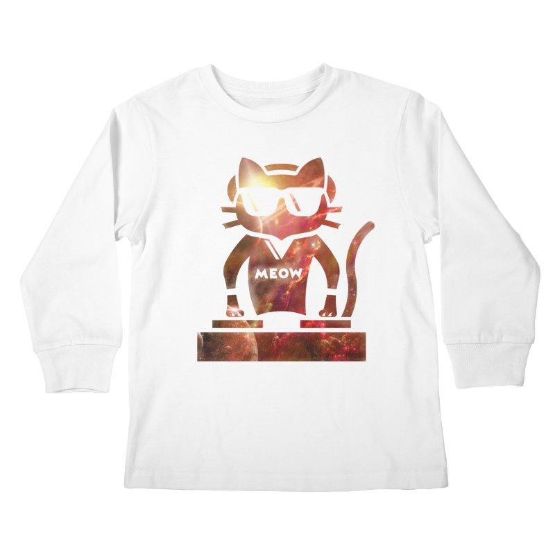 MEOW MIX Kids Longsleeve T-Shirt by The SHIZIRT