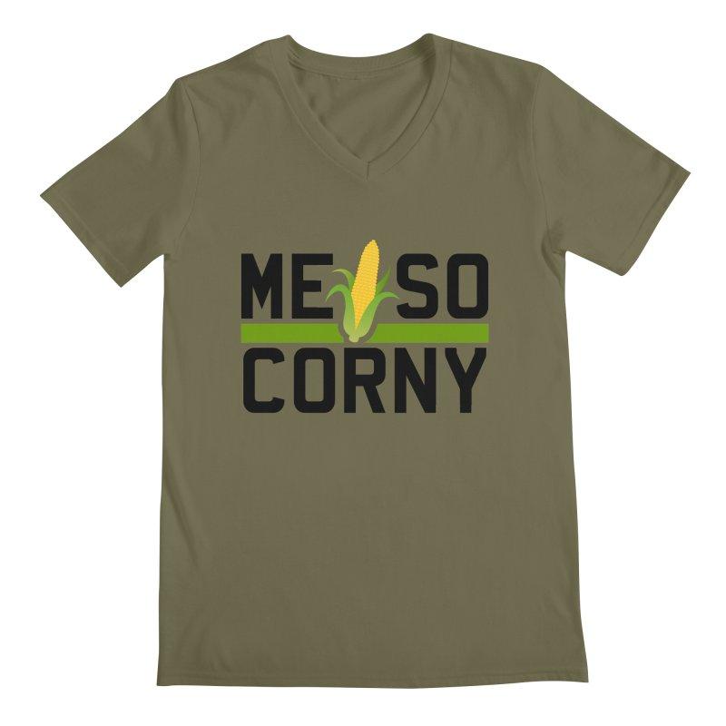 ME SO CORNY Men's V-Neck by The SHIZIRT