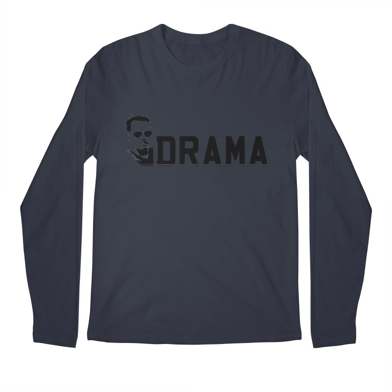 DRAMA Men's Longsleeve T-Shirt by The SHIZIRT