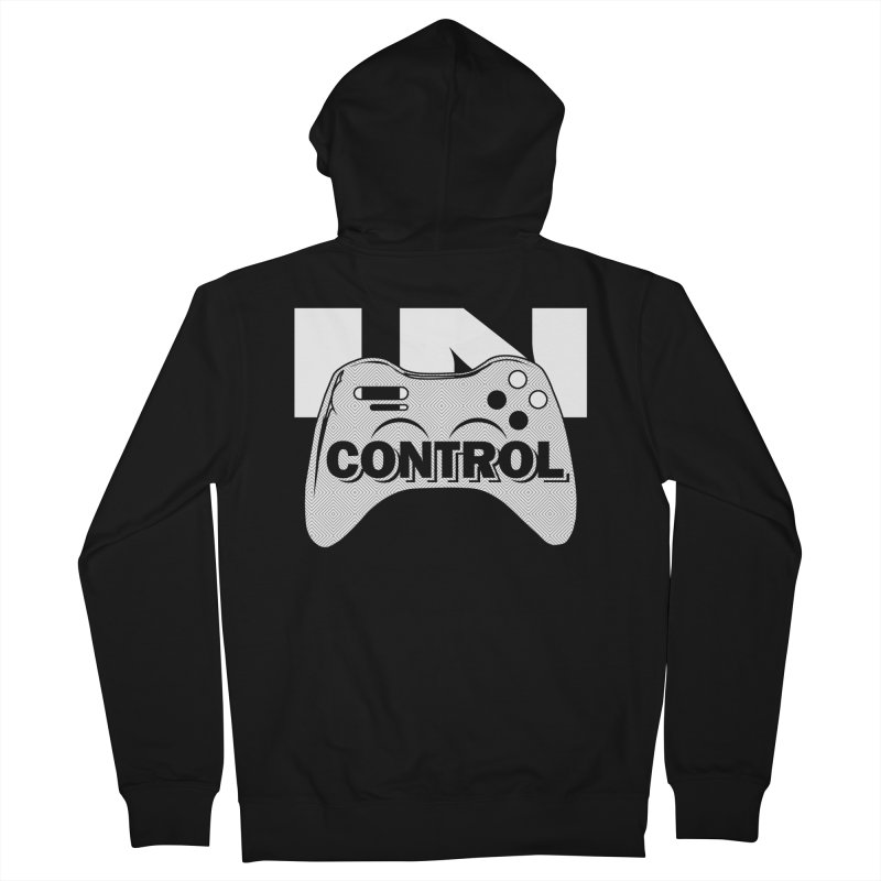 GAME SERIES: IN CONTROL Men's Zip-Up Hoody by The SHIZIRT