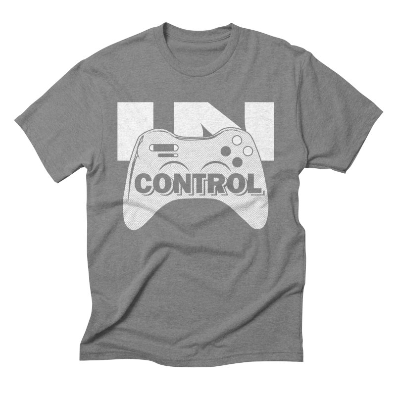 GAME SERIES: IN CONTROL Men's Triblend T-shirt by The SHIZIRT