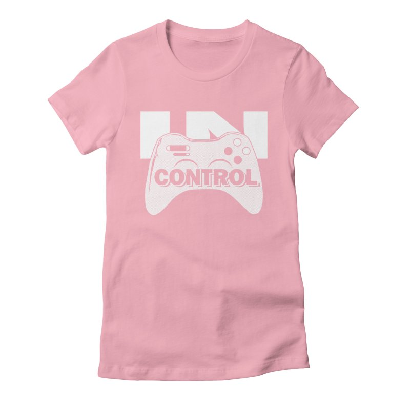GAME SERIES: IN CONTROL Women's Fitted T-Shirt by The SHIZIRT