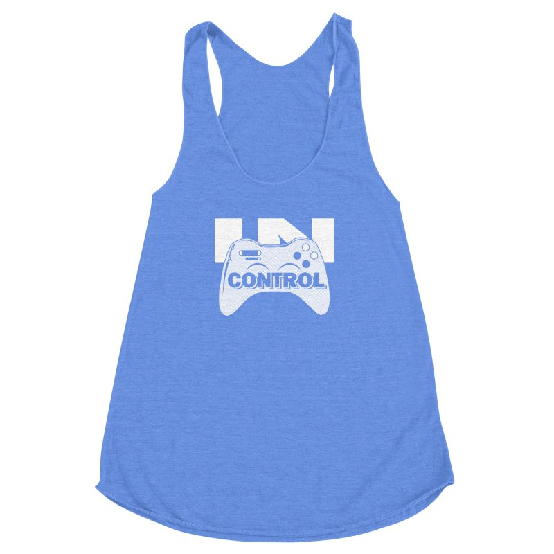 GAME SERIES: IN CONTROL Women's Racerback Triblend Tank by The SHIZIRT