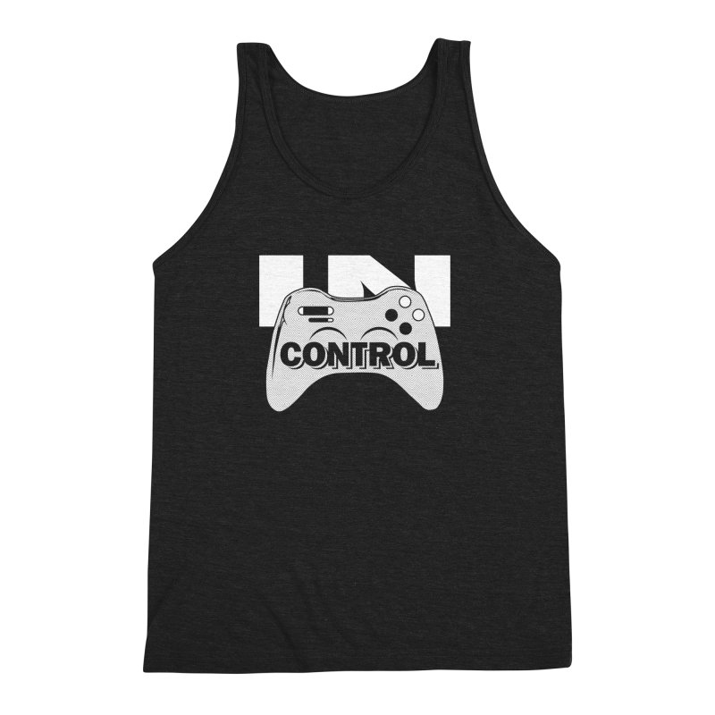 GAME SERIES: IN CONTROL Men's Triblend Tank by The SHIZIRT
