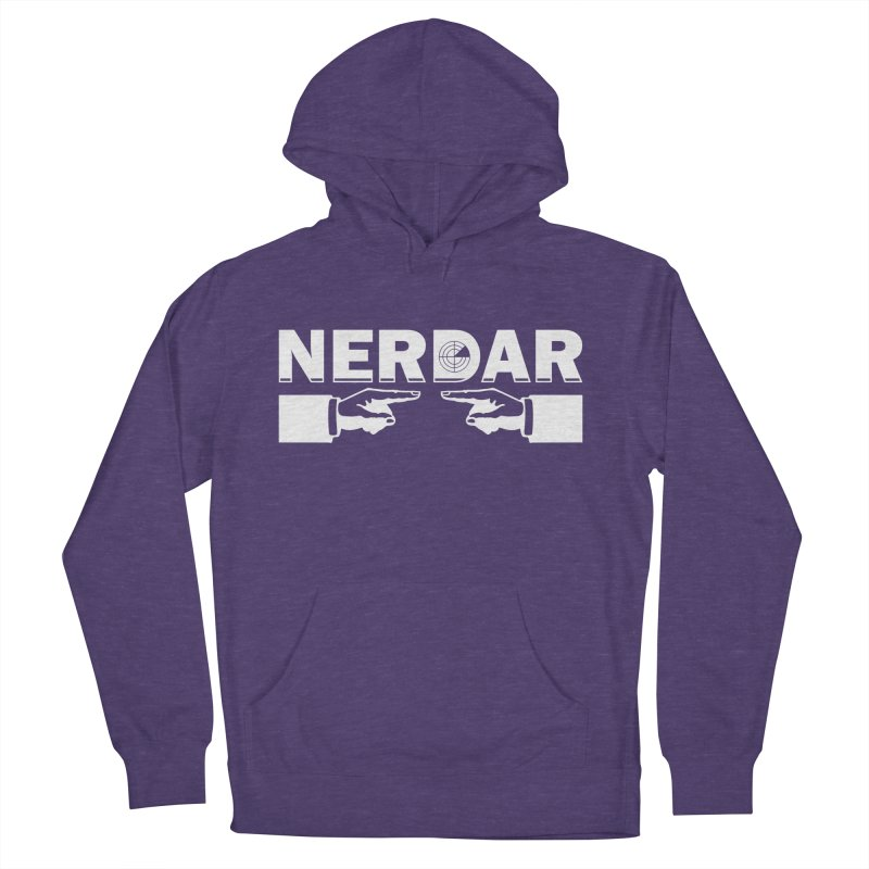 N E R D A R Women's Pullover Hoody by The SHIZIRT
