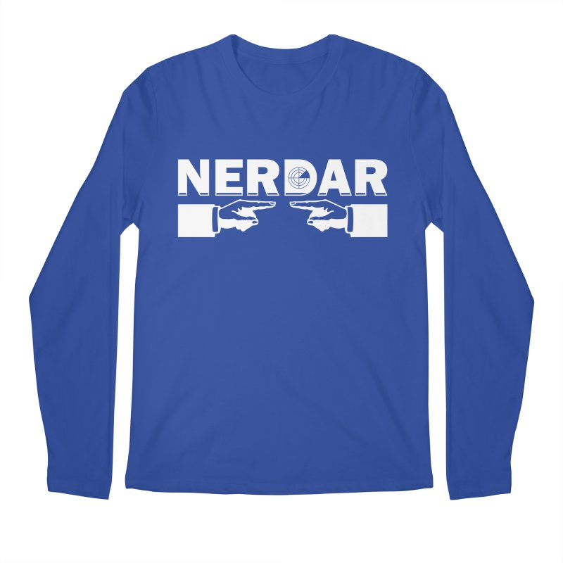 N E R D A R Men's Longsleeve T-Shirt by The SHIZIRT