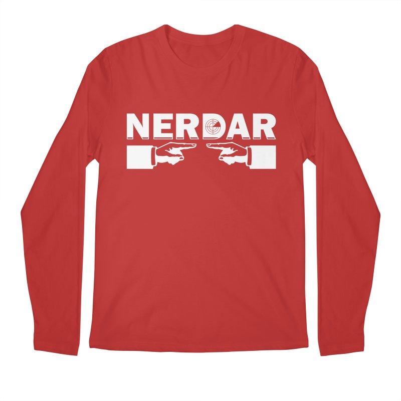 N E R D A R Men's Longsleeve T-Shirt by The SHIZIRT