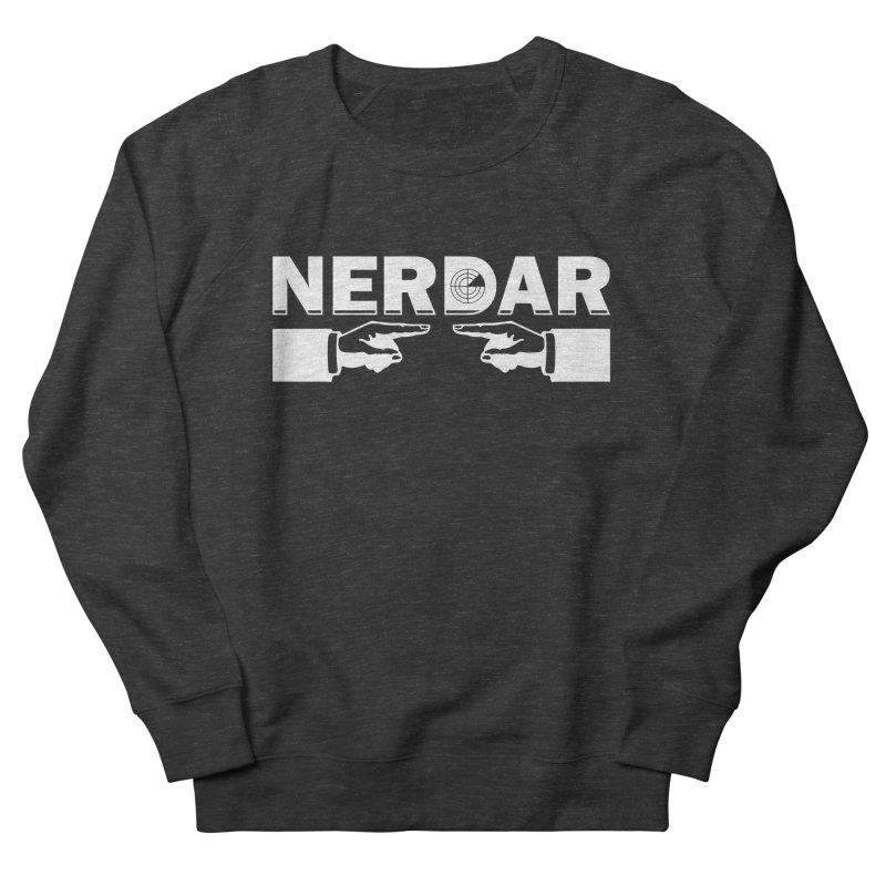 N E R D A R Women's Sweatshirt by The SHIZIRT